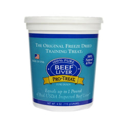 Freeze-Dried Beef Liver, 4oz