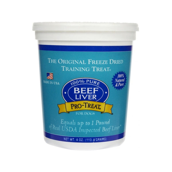Freeze-Dried Beef Liver Weight : 4oz