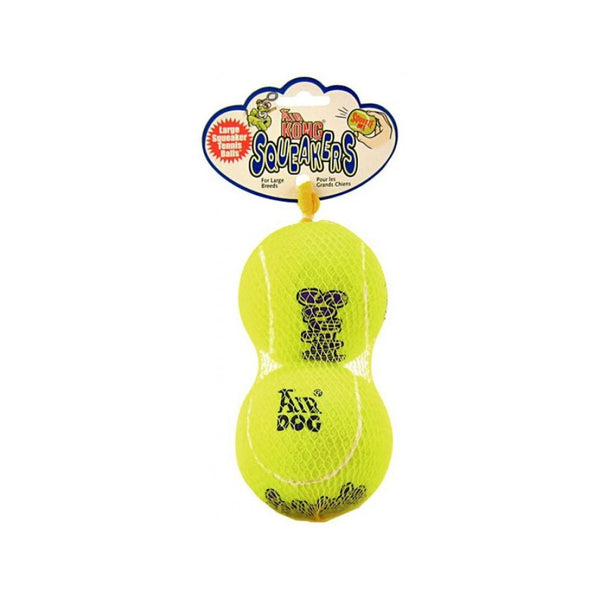 AirDog Squeakair Balls 2 in Pack, Large