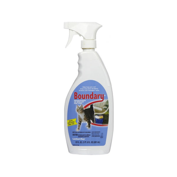 Boundary Repellant Spray for Cats, 22oz