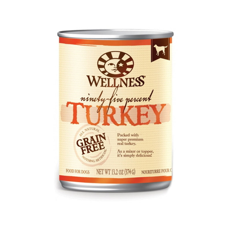 95% Turkey Recipe, Grain-Free for Dogs, 13.2oz