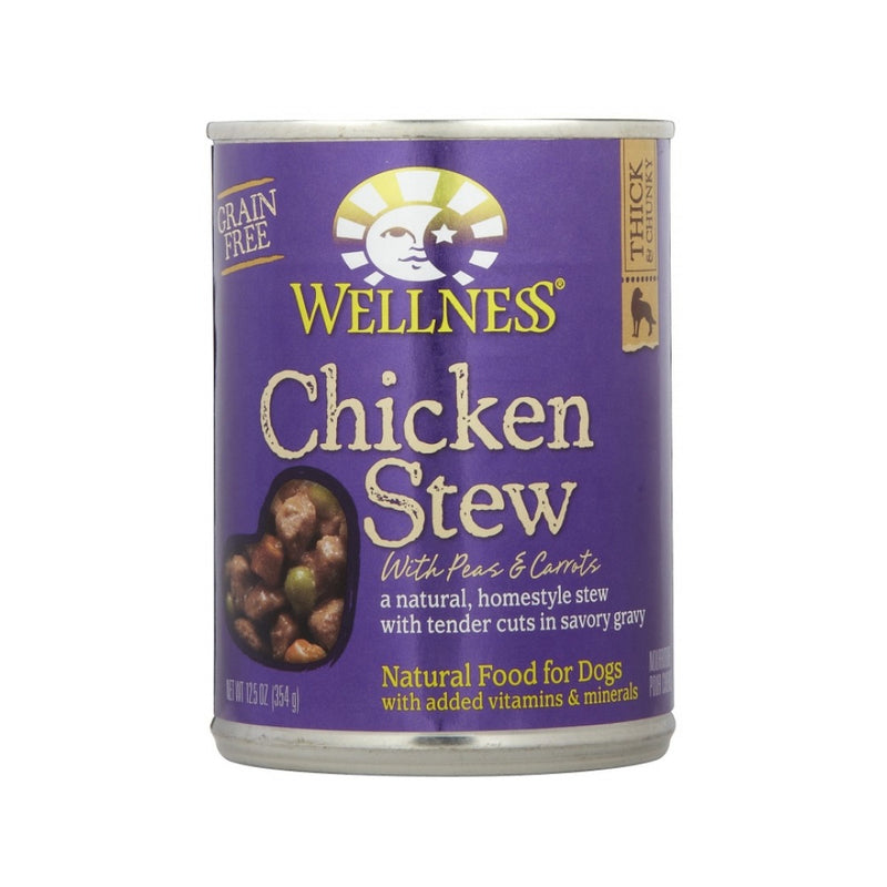 Chicken Stew with Peas & Carrots Grain Free for Dogs, 12.5oz
