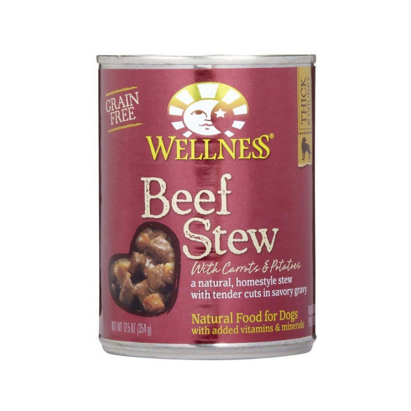 Beef Stew with Carrots & Potatoes Grain Free for Dogs, 12.5oz
