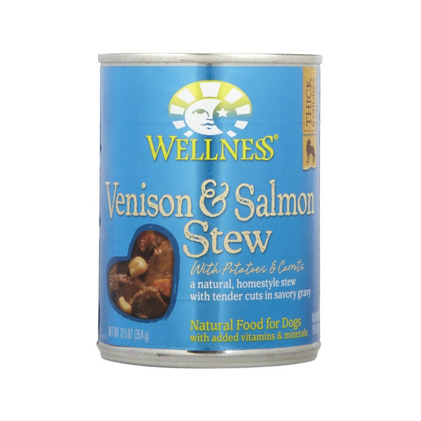 Venison & Salmon Stew with Potatoes & Carrots for Dogs, 12.5oz
