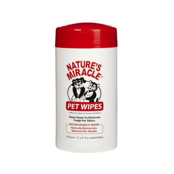Pet Wipes Count : 70 cts