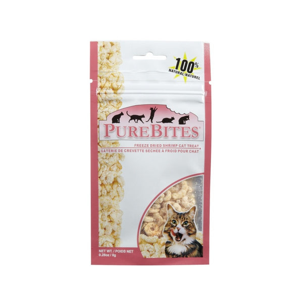 Freeze-Dried Cat Treats - Shrimp Weight : 0.28oz