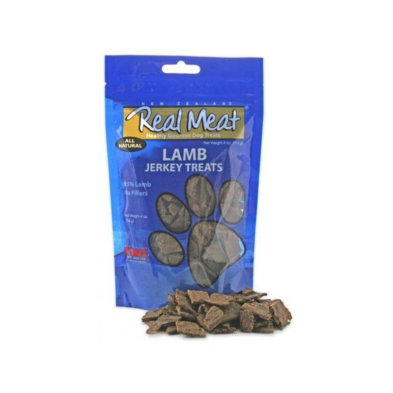 All Natural Jerky Treats - Lamb, 4oz