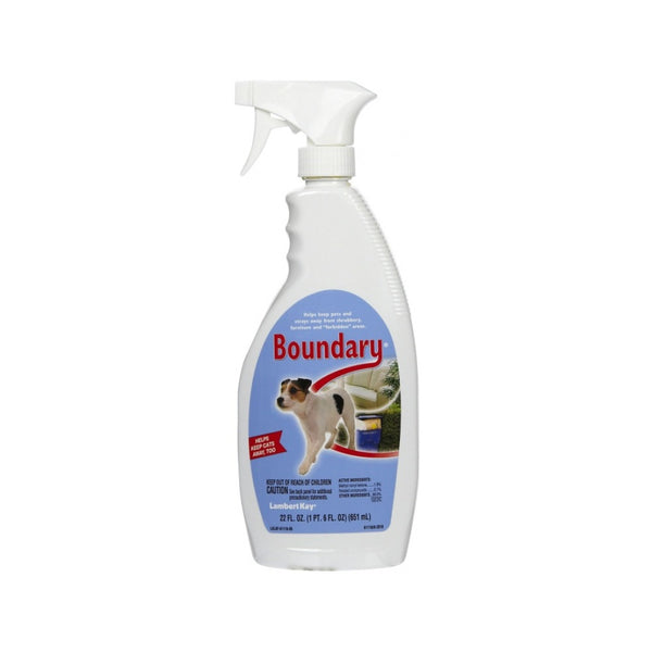 Boundary Repellent Spray for Dogs Size : 22oz