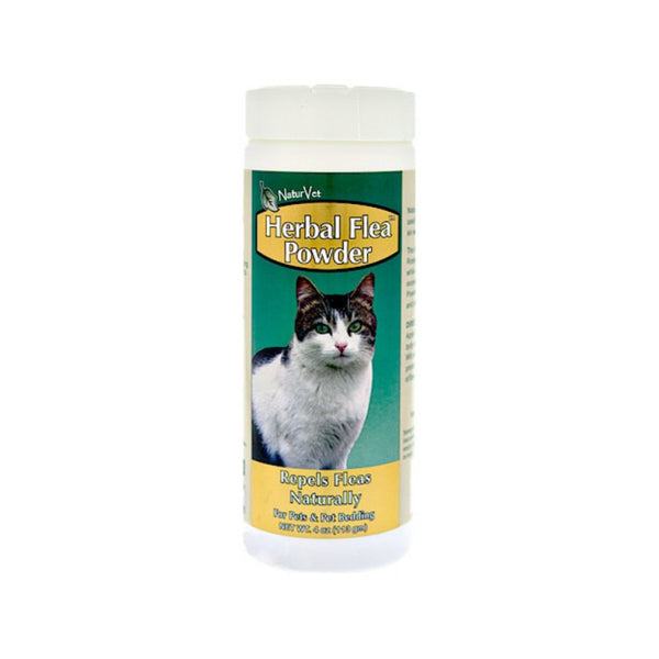 Feline Herbal Flea Powder for Cats, 4oz