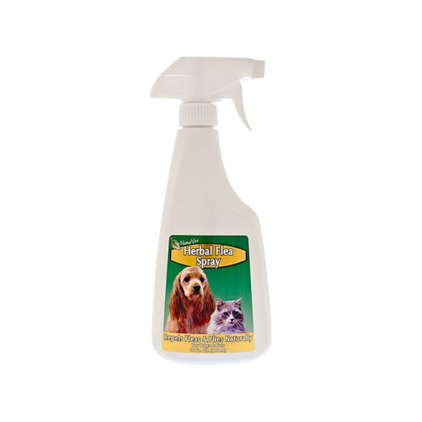 Herbal Flea Spray for Dogs & Cats, 16oz