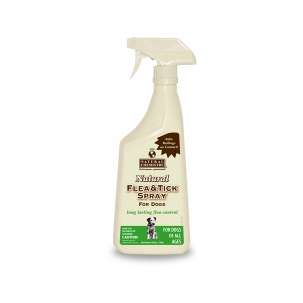 Natural Flea & Tick Spray for Dogs, 24oz