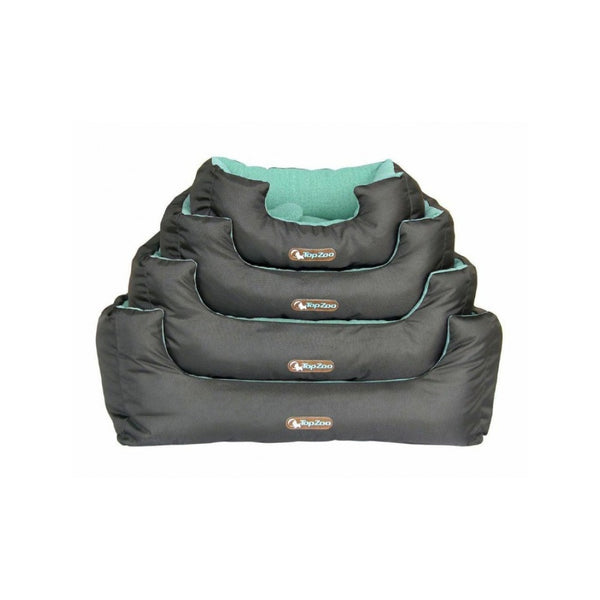 Dodo Cosy Canvas Dog Bed Size : Large, Colour : Green