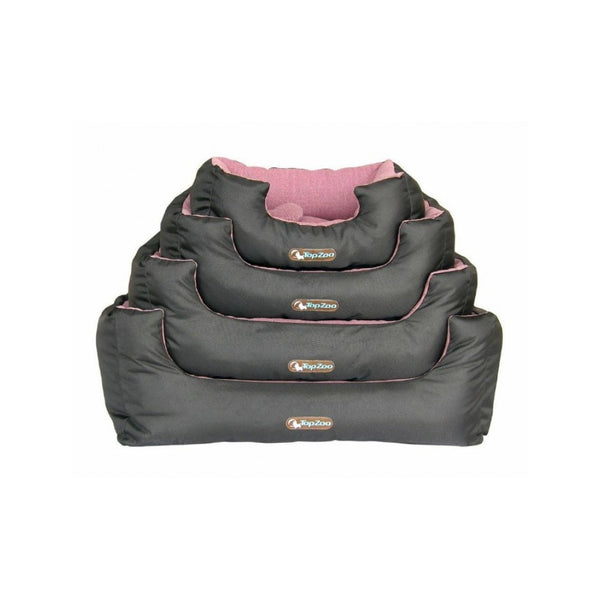 Dodo Cosy Canvas Dog Bed Size : Large, Colour : Pink