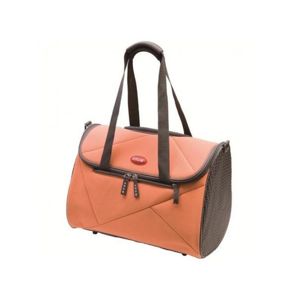 Argo Pet Avion Airline Approved Carrier Size : Medium, Size : 17.75 x 9.5 x 11 in, Colour : Tango Orange