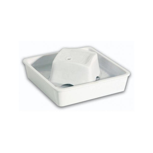 Peaceful Waters - Drinking Fountain, Color White, 60oz