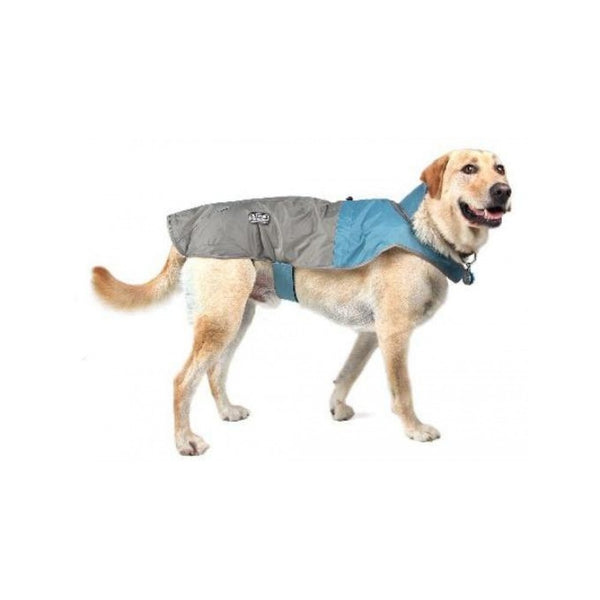 Foul Weather Rain Coat for Dogs, Color: Blue, XS, Girth: 11-16""