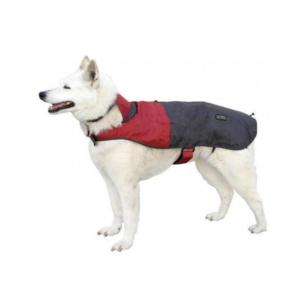 Foul Weather Rain Coat for Dogs, Color: Red, XS, Girth: 11-16""