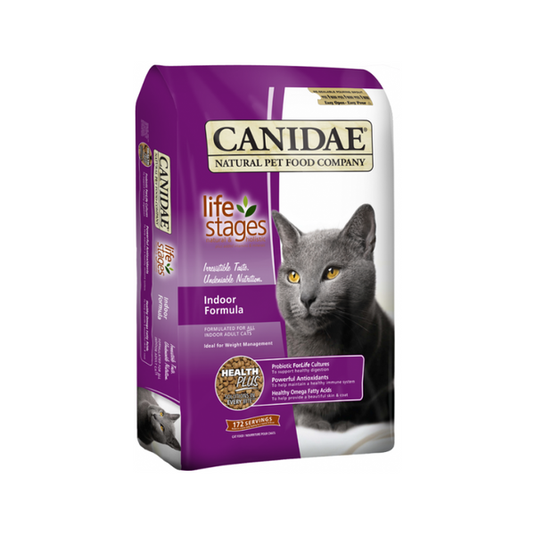 Life Stages Indoor Formula for Cat Weight : 4lb