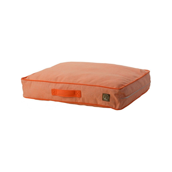Siesta Pillow Bed, Color Orange, Large