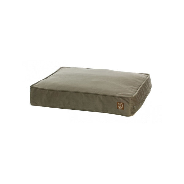 Faux Suede Classic Pillow Pet Bed, Color Tan, Medium