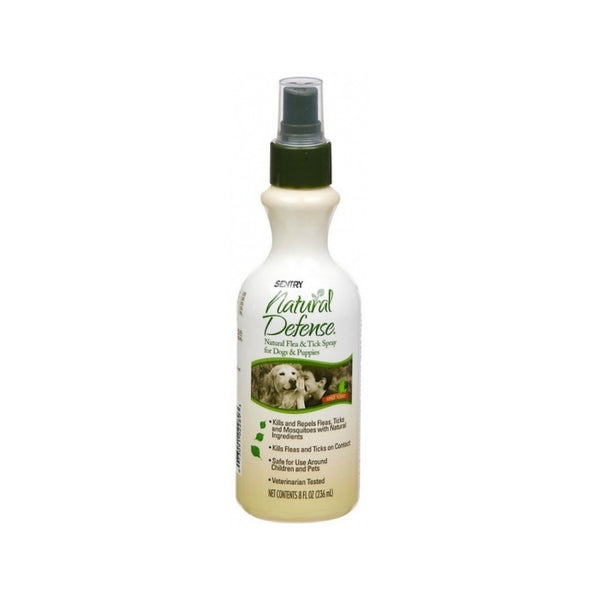 Natural Defense Flea & Tick Spray Weight : 8oz