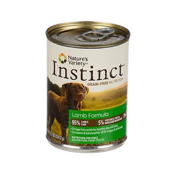 Instinct Lamb Formula, Grain-Free for Dogs, 13.2oz