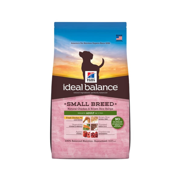 Small Breed Adult Chicken & Brown Rice Weight : 4lb