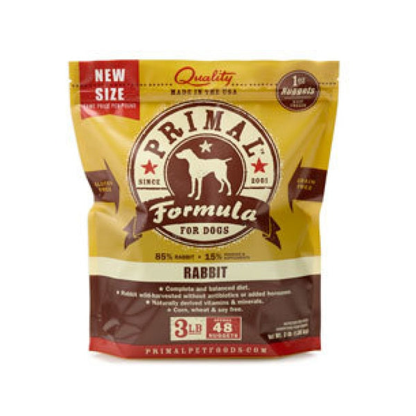 Canine Rabbit Formula Nuggets, 3lb (Frozen)