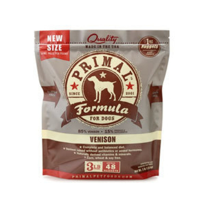 Canine Venison Formula (Nuggets) Weight : 3lb