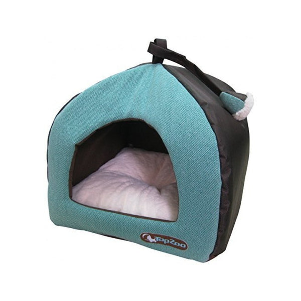 Tipicat Canvas bed for Cats, Color Green, Small