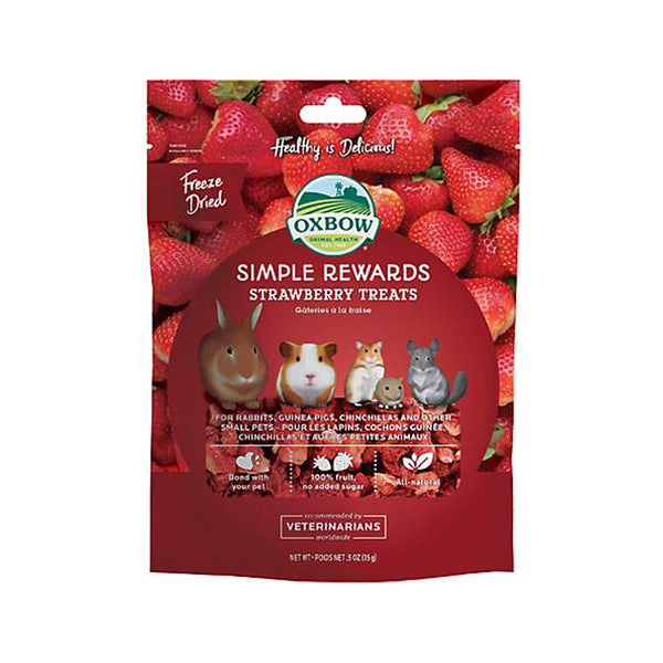 Simple Rewards Strawberry Treats 0.5oz
