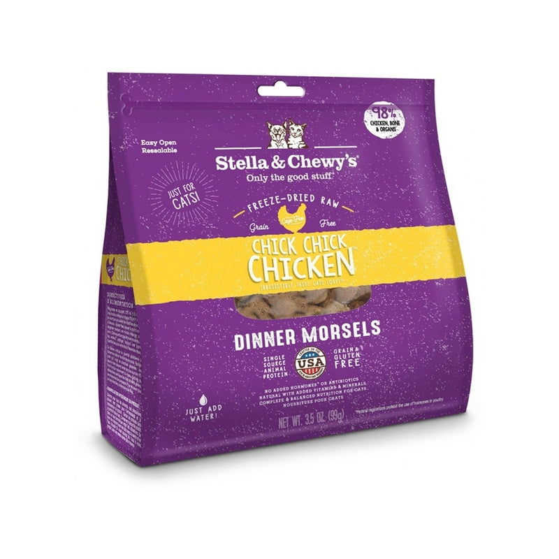 Feline Freeze-Dried Chicken Dinner Morsels Weight : 18oz