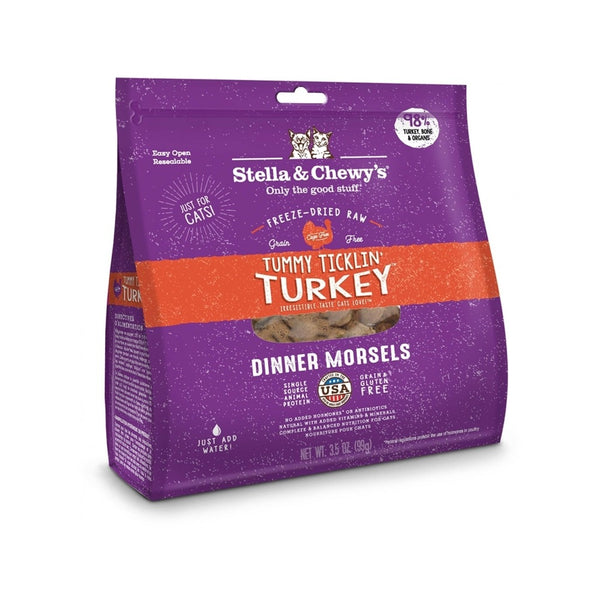 Feline Freeze-Dried Turkey Dinner Morsels, 18oz