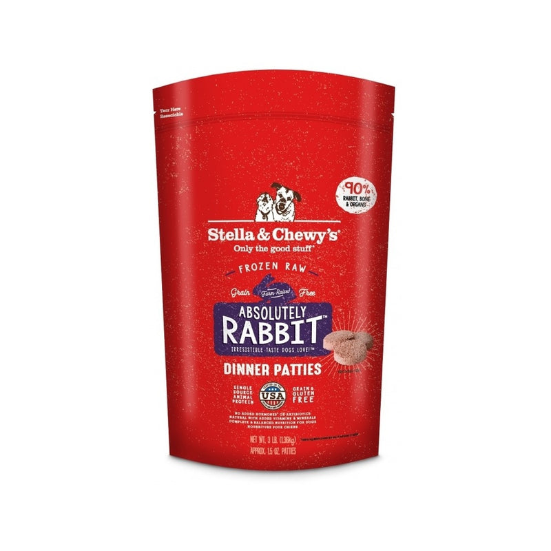 Frozen Dinner Rabbit, 3lb