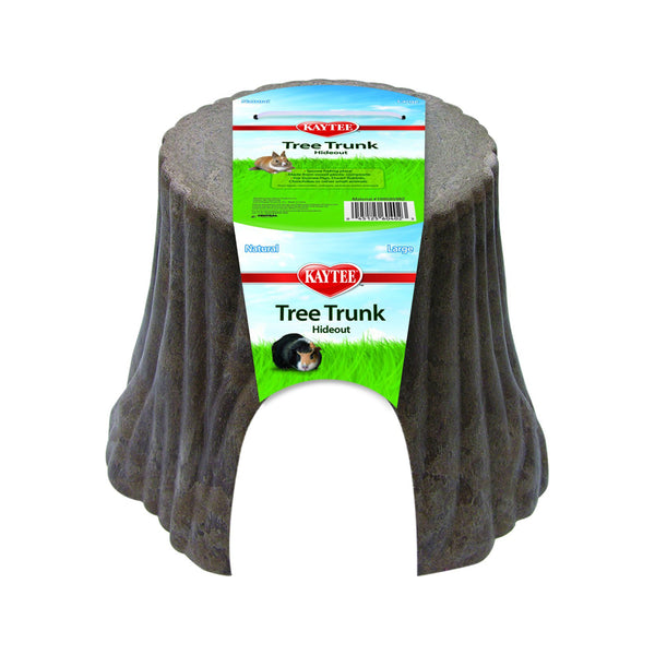 Kaytee Tree Trunk Hideout Natural - Large