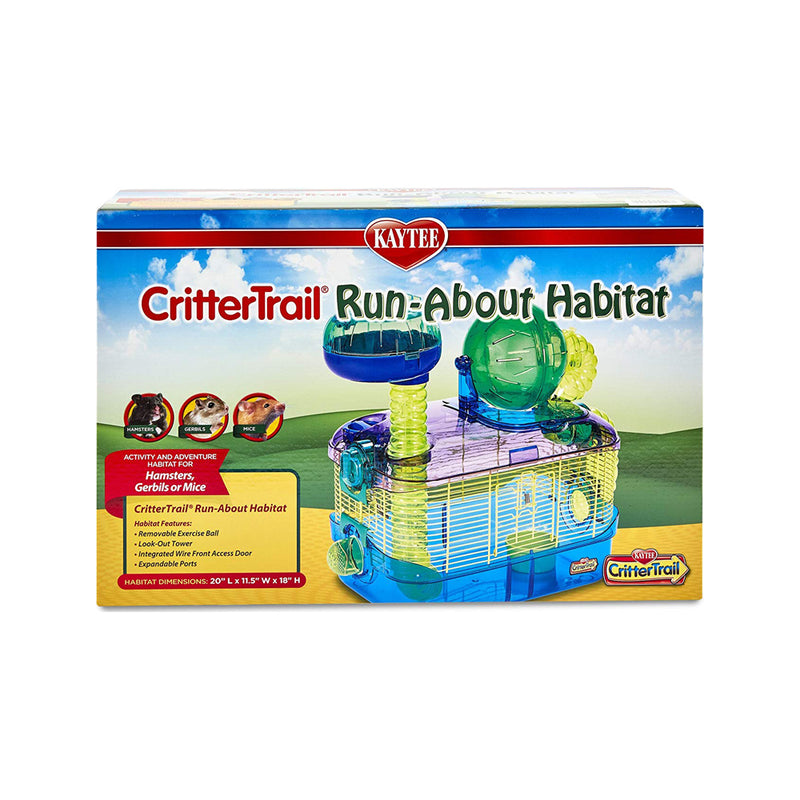 CritterTrail RunZ Run-About Habitat