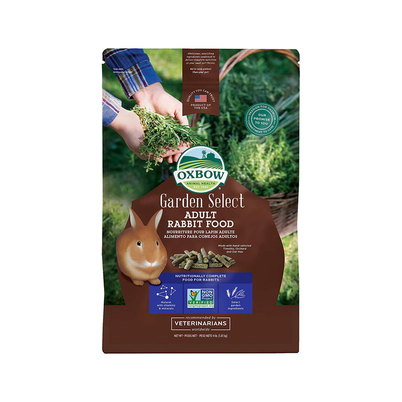 Garden Select Fortified Food For Adult Rabbit 4lb