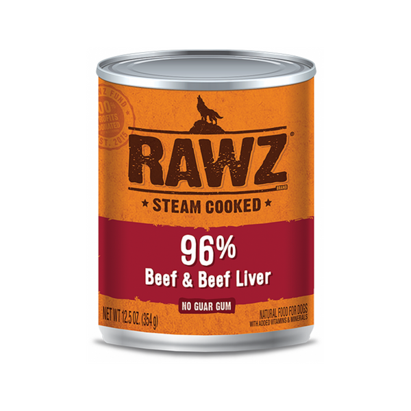 Canned 96% Beef & Liver, 12.5oz
