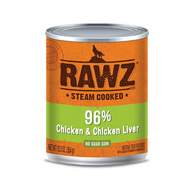 Canned 96% Chicken & Liver, 12.5oz