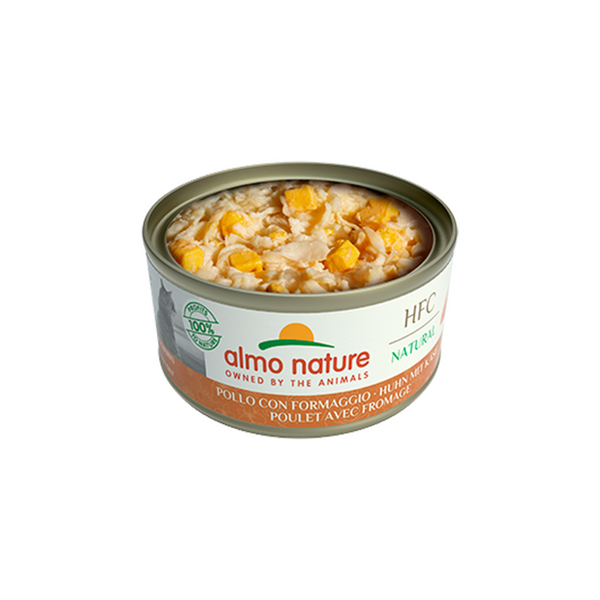 Natural - Chicken with Cheese Wet Cat Food, 70g