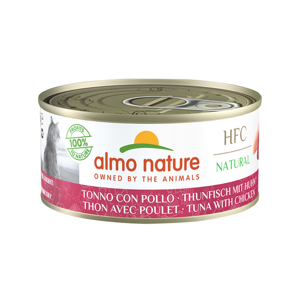 Natural - Tuna & Chicken Wet Cat Food, 150g