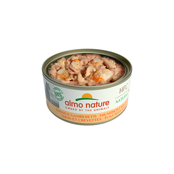Natural - Tuna & Shrimps, 140g