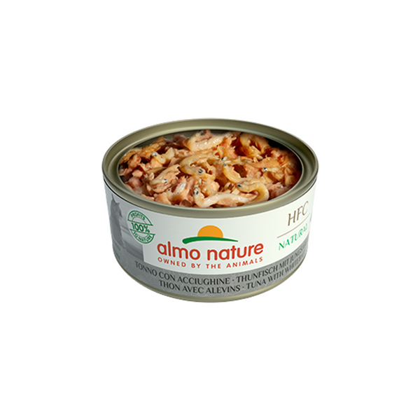 Natural - Tuna & Whitebait Wet Cat Food, 140g