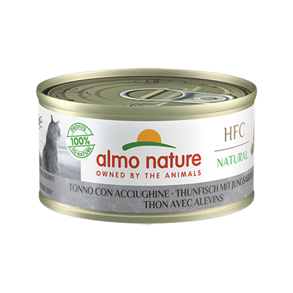 Natural - Tuna and Whitebait Wet Cat Food, 70g