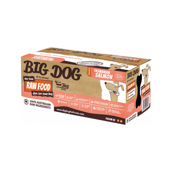 Standard Range for Dogs - Salmon Raw Frozen, 12x250g