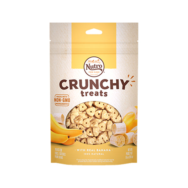 Treats - Crunchy Banana, 10oz