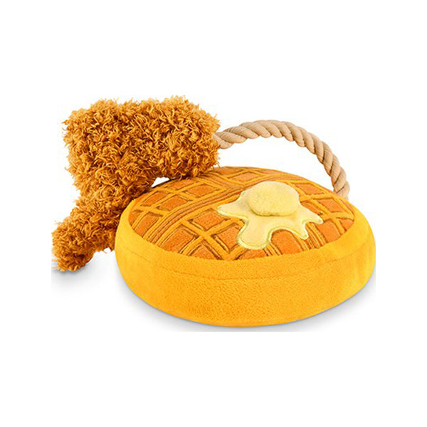 Barking Brunch - Chicken & Woofles Plush Toy