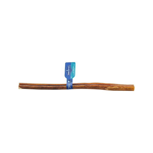 Low Odor Double-Cut Bully Stick,12""