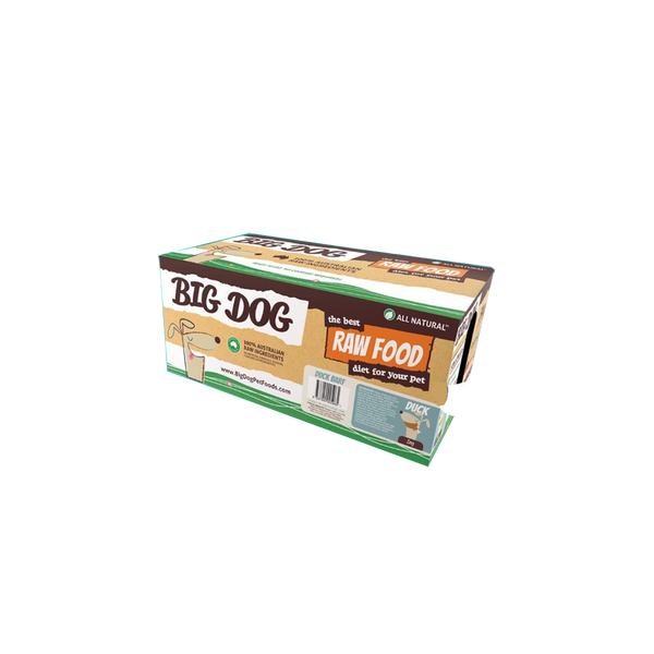 Standard Range Frozen Raw Duck Dog Food, 12x250g