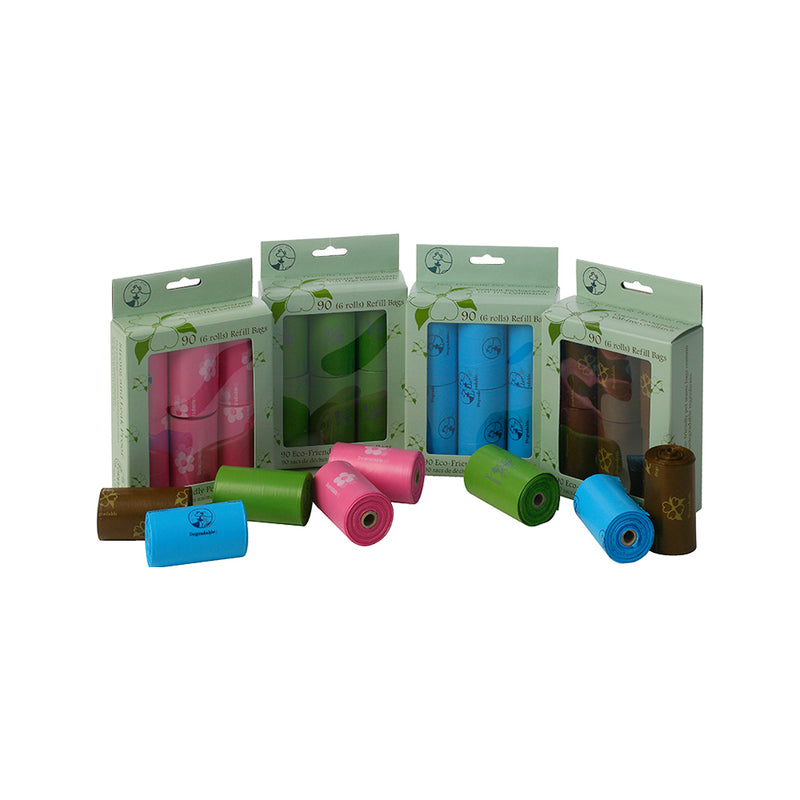 Biodegradable Waste Bags Colour, Color: Green